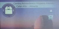 University of Almería, Calar Alto Observatory and IAA will enhance astronomical knowledge