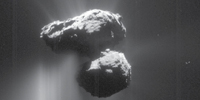 Summer fireworks on Rosetta´s comet