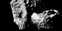 Rosetta mission confirms comet 67P to be product of fusion of two independent objects