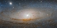 History of Andromeda galaxy studied through stellar remains
