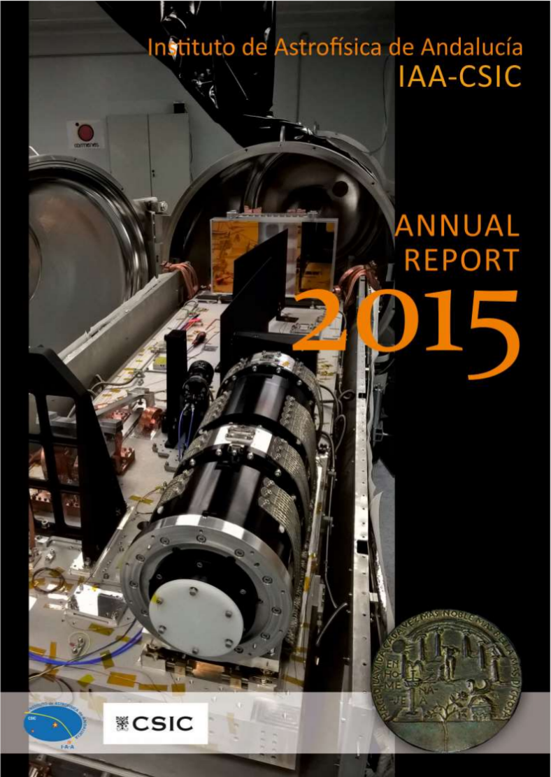 2015 Cover for Annual Report about IAA